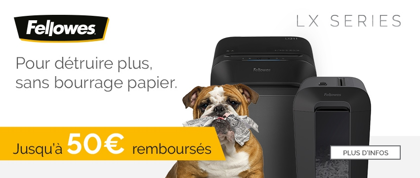 Fellowes LX Series Action Cashback