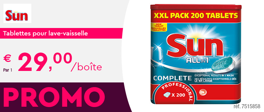 Sun Tablettes pour lave-vaisselle All-in-One