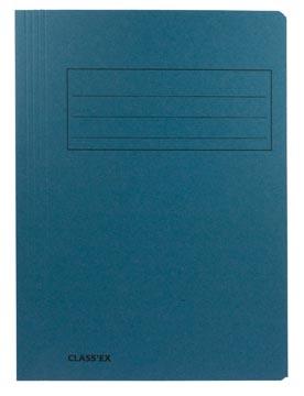 Class'ex chemise de classement, bleu, ft 23,7 x 32 cm (pour ft A4)