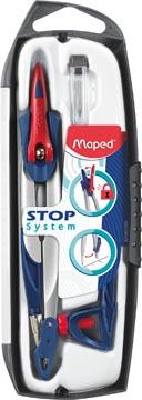 Maped compas Stop System, coffret 3 pièces