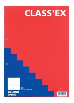 Class'ex bloc de cours, ligné