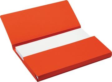 Jalema Secolor Pochette documents pour ft A4 (31 x 23 cm), rouge