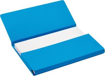 Jalema Secolor Pochette documents pour ft folio (34,8 x 23 cm), bleu