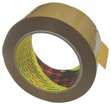 Scotch ruban d'emballage 371, ft 50 mm x 66 m, brun
