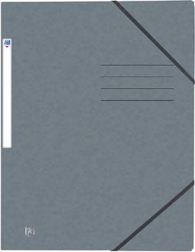 Oxford Top File+ farde à rabats, pour ft A4, gris