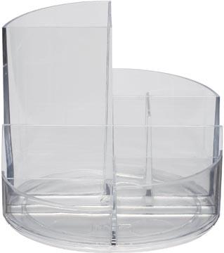 Maul Organisateur de bureau Roundbox, transparent