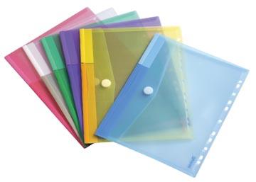 Tarifold pochette perforée, couleurs assorties