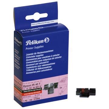 Pelikan rouleau couleur noir/rouge, boîte de 2 rouleaux - OEM: 515056