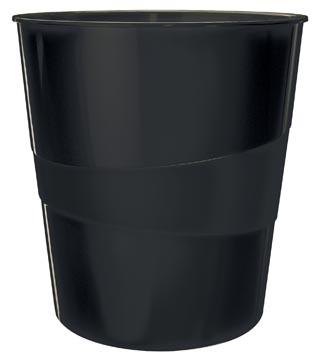 Leitz WOW Corbeilles à papier, noir