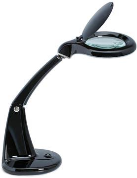 Maul luminaire loupe LED MAULduplex, noir