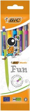 Bic portemine Matic Fun, en couleurs assorties