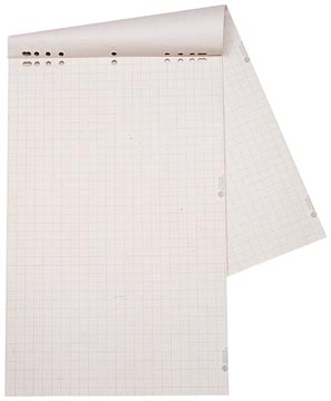Dahle bloc de papier, recharge pour tableaux de conférence