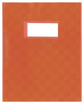 Protège-cahiers orange