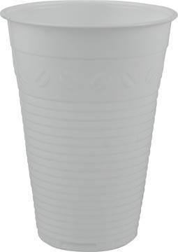 Gobelet en polystyrène pour des boissons chaudes, 180 ml, blanc, paquet de 100 pièces