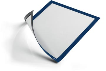 Durable Duraframe Magnetic A4 bleu foncé, en sachet brochable