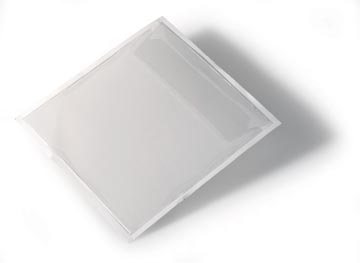 Durable Pochette auto-adhésive pour CD/DVD Pocketf 100 pièces