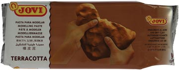 Jovi pâte à modeler terracotta, paquet de 500 g