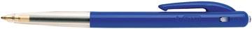 Bic stylo bille M10 Clic, pointe moyenne, 0,4 mm, bleu