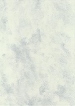 Decadry papier à structure marbré gris, 165 g, paquet de 50 feuilles
