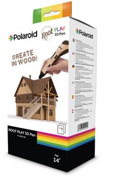 Polaroid stylo 3D Root Play, en boîte distributrice