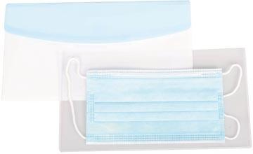 Tarfiold set avec housse antimicrobien + enveloppe Color Dream Chequebook pour masques, paquet de 6 sets
