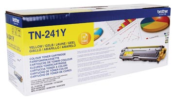 Brother toner, 1.400 pages, OEM TN-241Y, jaune