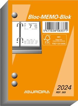 Aurora bloc éphéméride, 2022