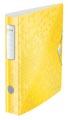Leitz WOW classeur à levier Active, dos de 6,5 cm, jaune