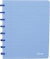 Atoma cahier Trendy ft A5, quadrillé 5 mm, bleu transparent