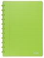 Atoma cahier Trendy ft A4, quadrillé commercial, vert transparent