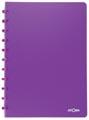 Atoma cahier Trendy ft A4, quadrillé commercial, pourpre transparent