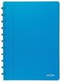Atoma cahier Trendy ft A4, quadrillé commercial, turquoise transparent
