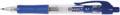 Q-Connect stylo bille, rétractable, pointe moyenne, bleu