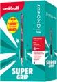 Uni-ball roller rétractable Signo RT207 + recharge (6 + 6 gratuits), bleu